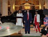 ترامب وميلانيا يصلان إلى قاعدة أندروز العسكرية المشتركة