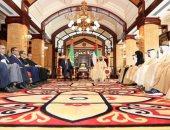 محمد بن راشد يستقبل الرئيس الموريتانى