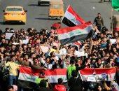 مقتل متظاهر فى ساحة التحرير  وسط بغداد بعد إطلاق النار عليه من قبل مجهولين