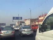 حالة الطريق الدائرى الآن.. كثافات مرورية مرتفعة من الكورنيش حتى الأوتوستراد