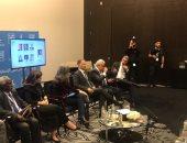 """ياسر رزق من أبو ظبى: """"الجزيرة"""" أداة حرب نفسية ضد مصر والإمارات والبحرين"""
