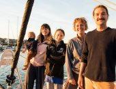 """جريتا ثونبرج تنشر أول فيديو لرحلة عبور """"الأطلسى"""" من أمريكا الشمالية للشبونة"""