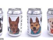 أمريكية تعثر على كلبها المفقود منذ سنوات بعد طبع صورته على علب البيرة.. صور