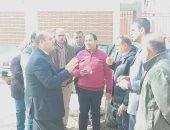 نائب محافظ الجيزة يوجه بسرعة الانتهاء من مشروعات الصرف الصحى بالحوامدية