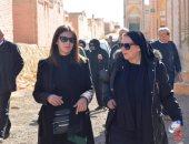 دفن جثمان الراحلة نادية لطفى بـ 6 أكتوبر بجوار مدفن الفنانة ماجدة