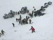 ارتفاع حصيلة ضحايا انهيار جليدى بتركيا إلى 28 عامل إنقاذ
