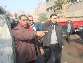 نائب محافظ القاهرة يوجه بسرعة إنهاء أعمال الصرف الصحى بحدائق القبة