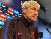 سيتين: سندخل مباراة برشلونة ضد إيبار كأنها الأخيرة في الدوري الإسباني