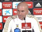 زيدان قبل مباراة أوساسونا ضد ريال مدريد: لا تنسوا كل شىء بسبب خسارة