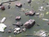 شكوى من غرق قرية ابتوك شبراخيت بمياه الصرف الصحى بالبحيرة
