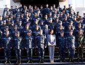 """وزيرة الهجرة تزور القوات البحرية.. وتوجه الشكر للجيش: """"درع الوطن وسيفه"""""""
