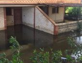 شكوى من غرق مدينة بلطيم بالمياه المتراكمة فى كفر الشيخ