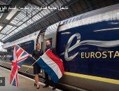 وسع للكبير.. تشغيل خدمة قطارات تربط بين أمستردام ولندن