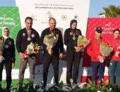 مختلط الرماية يحصد ذهبية وفضية فى البطولة العربية بالمغرب