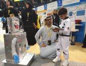 طفل إماراتى يلفت أنظار المشاركين بمهرجان العلوم والابتكار.. اعرف التفاصيل