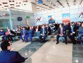 """صور.. رئيس :""""المصرية للمطارات"""" يتفقد مطارى العاصمة وسفنكس لمتابعة التطوير"""