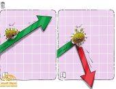 كاريكاتير صحيفة سعودية.. كورونا يؤثر على الإقتصاد الصينى بالسلب