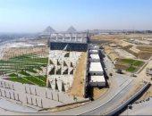 شاهد تطوير محيط المتحف الكبير وتنفيذ ممشى بطول 2 كيلو متر لربطه بالأهرامات