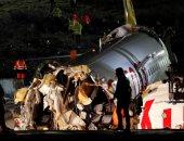 الصحة التركية: قتيل و157 مصابا فى تحطم طائرة بمطار صبيحة بإسطنبول