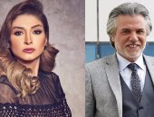 """ناصر سيف زوج المذيعة الشهيرة روجينا فى """"أسود فاتح"""" مع هيفاء وهبى"""