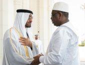محمد بن زايد يستقبل رئيس السنغال لبحث العلاقات الثنائية ومستجدات المنطقة