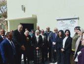 افتتاح أعمال تطوير مدرسة كفر العلو بحلوان بـ 5 ملايين جنيه.. صور