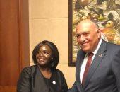 شكرى يبحث مع وزيرة الخارجية الكينية القضايا الإقليمية محل الاهتمام المشترك