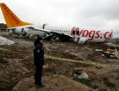 ارتفاع حصيلة ضحايا تحطم طائرة فى اسطنبول لـ 3 قتلى و179 مصابا