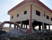 صور.. إزالة 348 حالة تعد على أراضى الدولة فى 4 أيام بالقليوبية