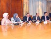 وزيرة التجارة: حريصون على تعزيز التعاون مع المؤسسات المالية العالمية والإقليمية