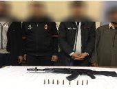 ضبط 4 أشخاص متهمين بمقتل سائق وعامل ببنى مزار الواقعة بدافع الثأر