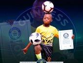 طفل نيجيرى 11 عاما يدخل موسوعة جينيس بسبب مهاراته في كرة القدم .. فيديو
