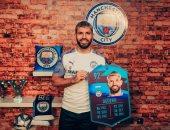 أجويرو يتوج بجائزة لاعب شهر يناير فى الدوري الإنجليزي