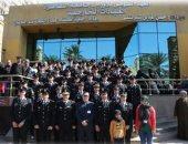 صور.. ضباط وطلاب أكاديمية الشرطة يتبرعون بدمائهم لمرضى معهد الأورام