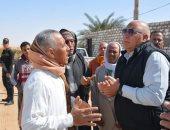 محافظ الوادي الجديد يوجه بحل مشكله صرف صحي حي الشيخ صبيح في الخارجة