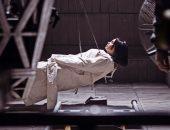 """هند صبرى تكشف عن لقطات جديدة من كواليس فيلم الفيل الأزرق 2 """"صور"""""""