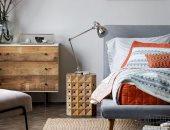 أحدث ديكورات غرف النوم لعام 2020.. السجادة الصوف وورق الحائط رجعوا موضة