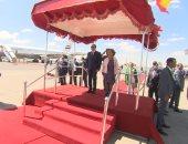 فيديو وصور.. مراسم استقبال رسمية لـ السيسى بأثيوبيا قبل قمة الاتحاد الأفريقى الـ33