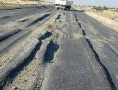 قارئ يشكو سوء حالة طريق الوصلة بين مدينة إدفو ومحافظة أسوان