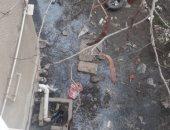 قارئ يشكو من انتشار مياه الصرف الصحى بالتجمع الثالث بالقاهرة الجديدة