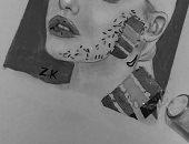 """زينب تشارك """"صحافة المواطن"""" برسوماتها لإبراز موهبتها الفنية"""