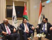 صور .. الدكتور على عبدالعال يلتقى رئيسى برلمان الأردن والعراق  فى عمان