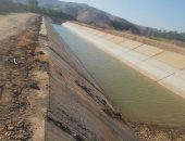 صور.. مشروعات كبرى تنفذها وزارة الرى بأسوان للحفاظ على المجارى المائية