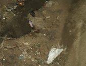 شكوى من انتشار مياه الصرف الصحى بمنطقة السقالة بالغردقة