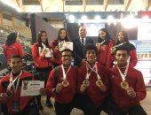 6 ميداليات حصاد الكاراتيه فى اليوم الأول من البطولة الأفريقية بالمغرب