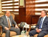 وزير التنمية المحلية يبحث مع محافظ الإسكندرية مشروعات الاستفادة من مياه الأمطار
