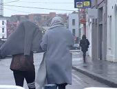 كيف أثرت عاصفة سيارا على الحياة فى أوروبا.. فيديو