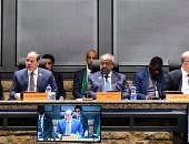 الرئيس السيسي ينشر جزءًا من كلمته في قمة مجلس السلم والامن الإفريقي حول ليبيا