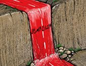 كاريكاتير صحيفة كويتية.. الدماء تسيل فى شوارع العراق