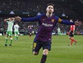 7 ثنائيات و2 هاتريك بأقدام ميسي مع برشلونة ضد ريال بيتيس.. فيديو